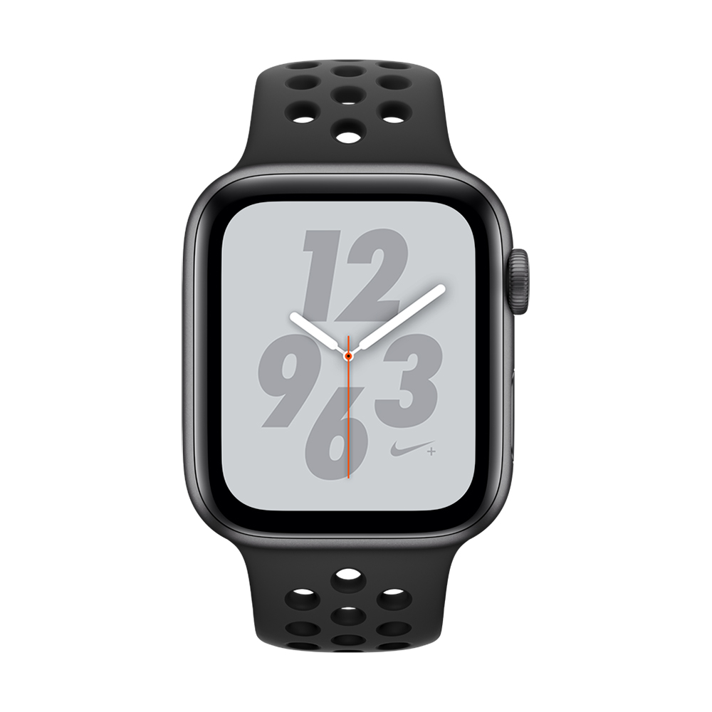 Apple Watch Nike+ S4(GPS+網路)44mm 太空灰色鋁金屬+黑色錶帶