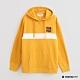 Hang Ten - 男裝 - 純色色塊拼接條紋長袖帽T - 黃 product thumbnail 1