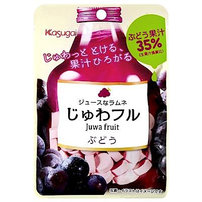 春日井 果汁感汽水糖-葡萄(25g)