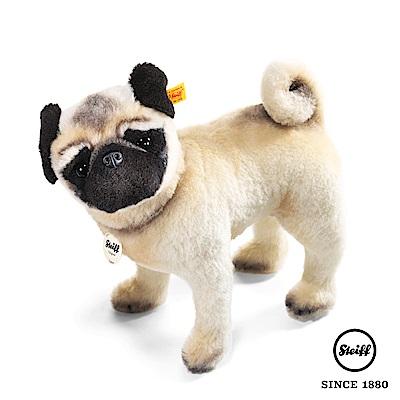 STEIFF德國金耳釦泰迪熊 巴哥犬 寵物小狗(動物王國)