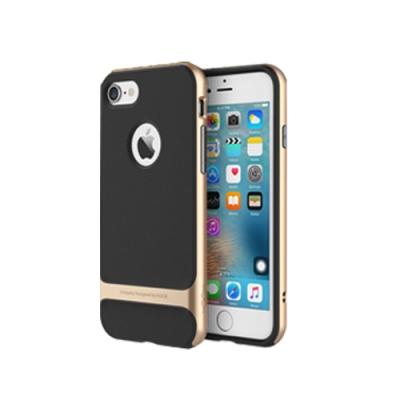 Rock iPhone7 4.7吋雙材質強化防摔抗震手機殼