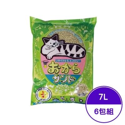 日本Super cat韋民超級貓環保豆腐除臭貓砂 7L (6包組)