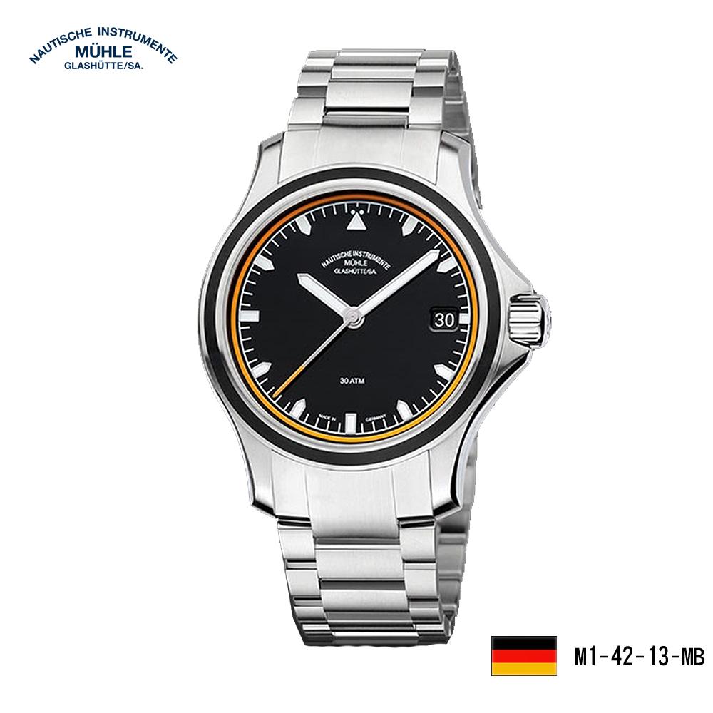 格拉蘇蒂·莫勒 航海系列M1-42-13-MB 越野時計機械男錶