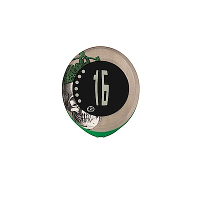 【SIGMA】MY SPEEDY 四項功能無線碼錶 骷顱頭