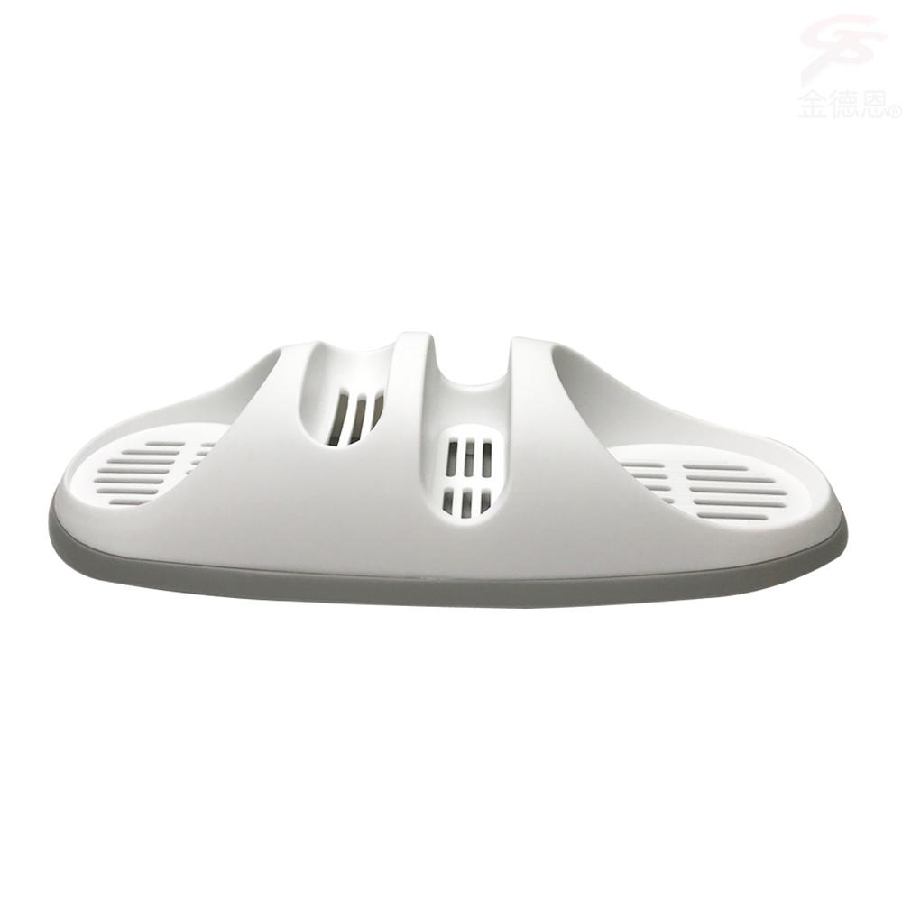 金德恩 台灣製造 廚衛專用用品收納瀝水架附蓄水盤
