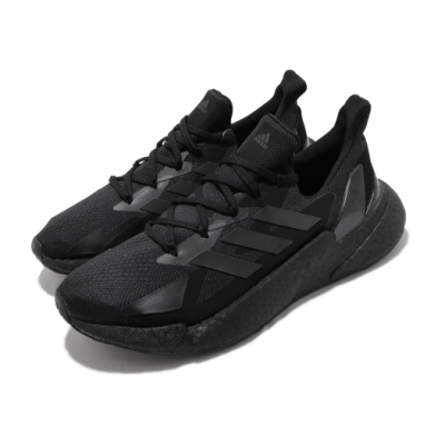 adidas 慢跑鞋 X9000L4 運動休閒 男鞋 愛迪達 路跑 緩震 Boost 穿搭 黑 銀 FW8386