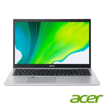 (升級16G,雙碟)Acer A515-56G-57HX 15吋筆電(i5-1135G7/MX350/16G/1TB HDD+512G SSD/Aspire 5/銀/特仕版)
