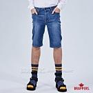 BRAPPERS 男款 HM-中腰系列-彈性五分褲-深藍