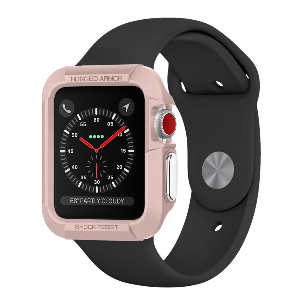 Spigen Apple Watch (42mm) Rugged Armor彈性防震保護殼