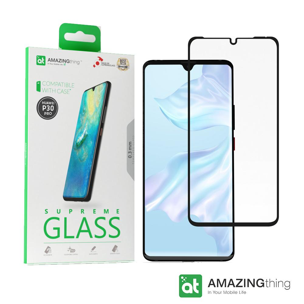 AMAZINGthing 華為 P30 Pro滿版3D強化玻璃保護貼