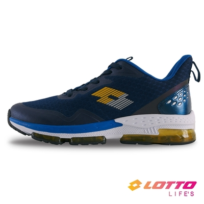 【LOTTO】義大利 男 SPACE 270 避震膠跑鞋(藍-LT1AMR3616)