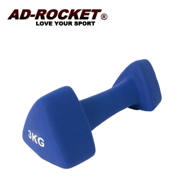 AD-ROCKET 三角鑄鐵啞鈴 韻律啞鈴 3kg 單入