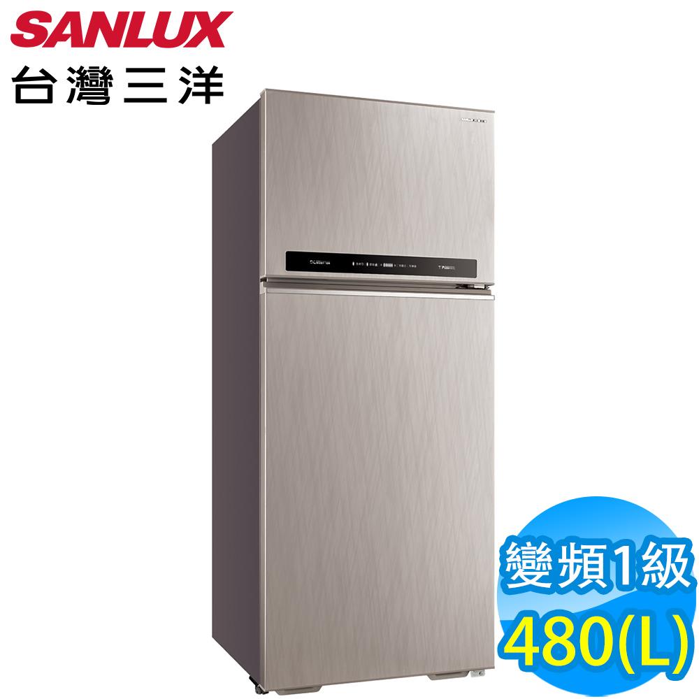 SANLUX台灣三洋 480L 1級變頻2門電冰箱 SR-C480BV1A