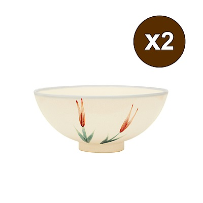 [買一送一]PEKOE飲食器 復古台灣碗.圓碗(金針)