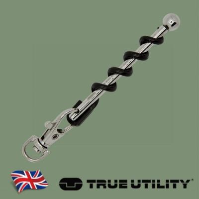 【TRUE UTILITY】英國多功能隨身紅酒開瓶器鑰匙圈Twistick
