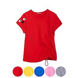 WHY AND 1/2 棉質萊卡T恤-衣襬可調節 11Y~14Y以上 多色可選