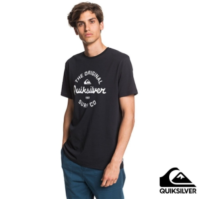 【 QUIKSILVER】EYE ON THE STORM SS T恤 黑色