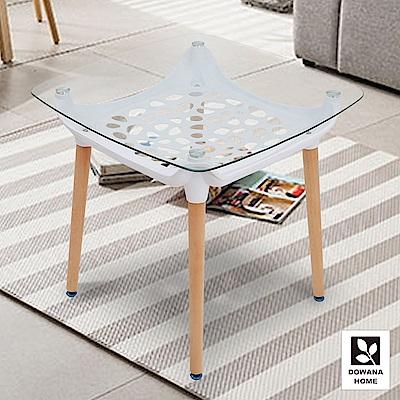 多瓦娜-亞安安玻璃造型餐桌/二色