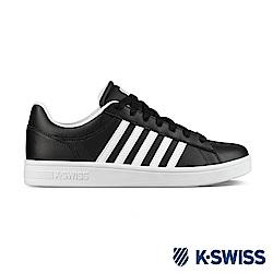 K-SWISS Court Winston休閒運動鞋-男-黑/白