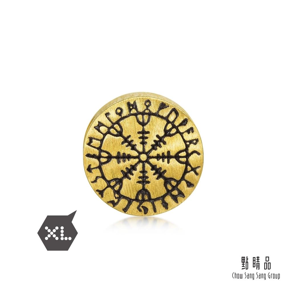點睛品 Charme XL 敬畏之舵 黃金串珠