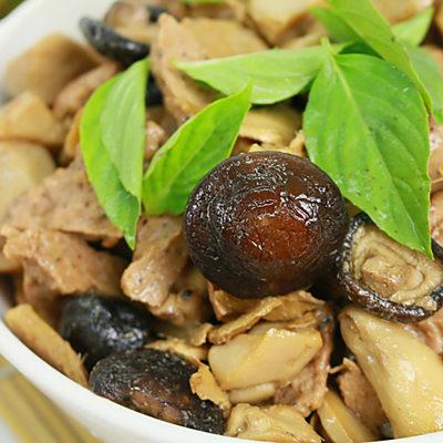 年菜預購- 皇覺 素食達人-鮮味鴻福三杯杏鮑菇(適合4-6人份)