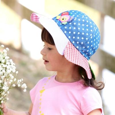 WHY AND 1/2 mini 花朵造型遮陽帽