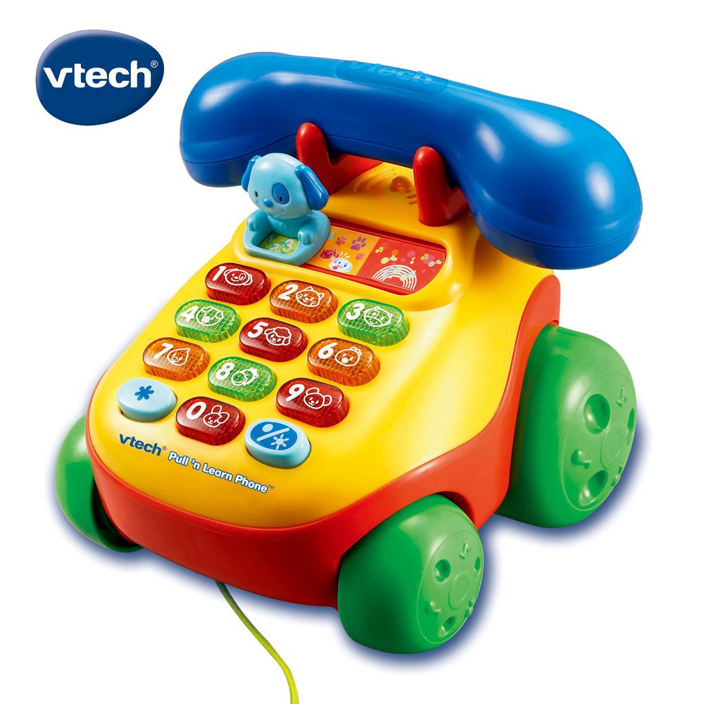 【Vtech】歡樂寶寶學習電話