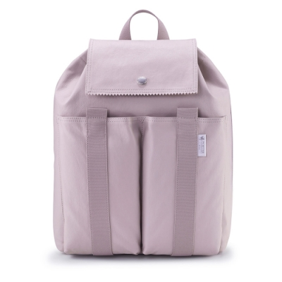 PORTER - 生活選物PUFF清新好感後背包 - 藕粉紫