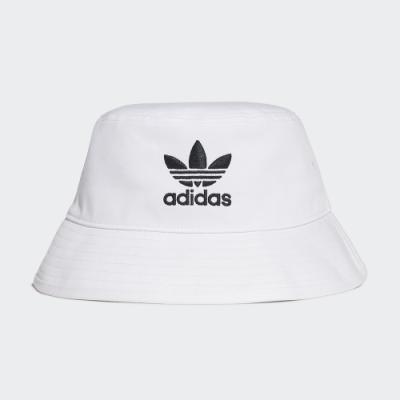 adidas ADICOLOR 白 漁夫帽/帽子 男女款 FQ4641