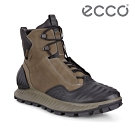 ECCO EXOSTRIKE 突破極限戶外運動高筒靴 米其林限定 男 棕綠/黑