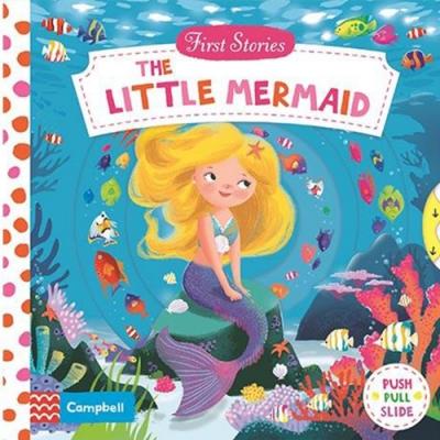 First Stories:The Little Mermaid 小美人魚硬頁拉拉操作書
