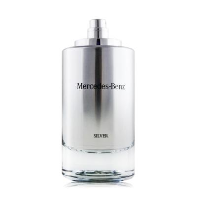 Mercedes Benz 賓士 銀輝幻羽男性淡香水 SILVER 120ml EDT-國際航空版-TESTER