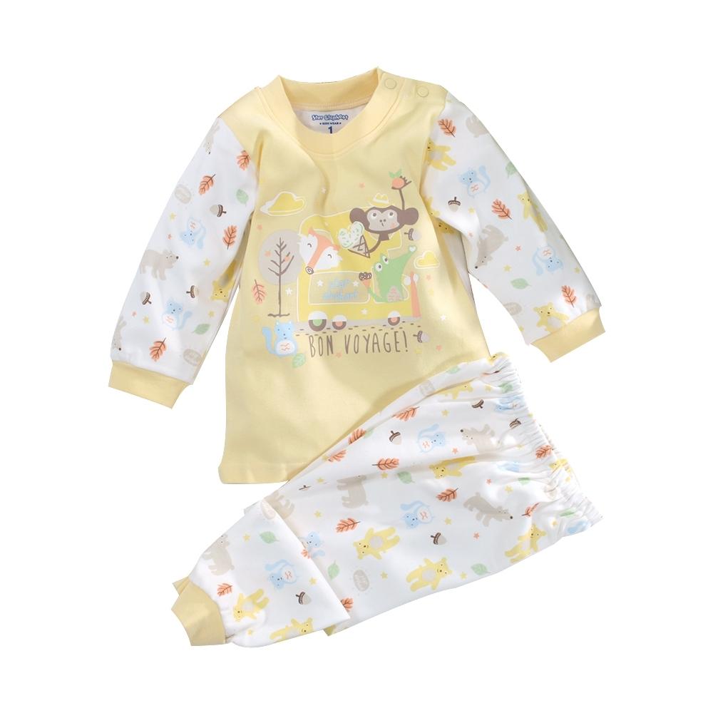 嬰幼兒台灣製純棉中厚長袖套裝 a70273 魔法Baby