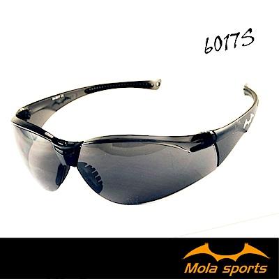 MOLA摩拉運動安全太陽眼鏡眼鏡 護目鏡 深灰鏡片 超輕量 男女可戴 6017s