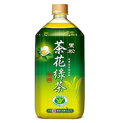 黑松 茶花綠茶(975mlx12入)