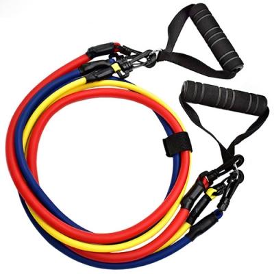 乳膠三條式拉力帶 拉力繩彈力繩拉力器彈力帶