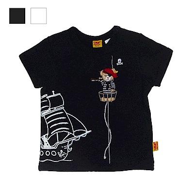 STEIFF德國精品童裝 短袖T恤上衣 海盜熊熊