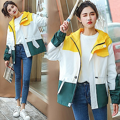 【韓國K.W.】撩人時尚淡雅清香時尚外套