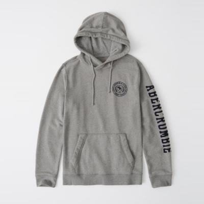 AF a&f Abercrombie & Fitch 帽T外套 灰色 1370