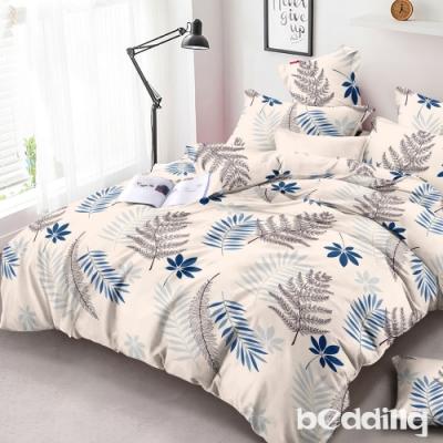 BEDDING-頂級法蘭絨-單人床包被套三件組-葉葉私語