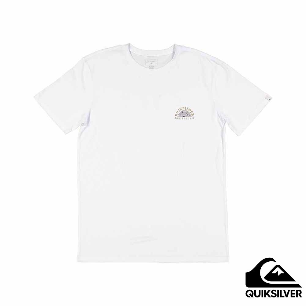 【QUIKSILVER】ABSENT MINDS SS T恤 白色