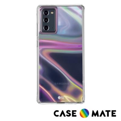 美國 Case●Mate Samsung Galaxy Note20 5G Soap Bubble 幻彩泡泡防摔抗菌手機保護殼