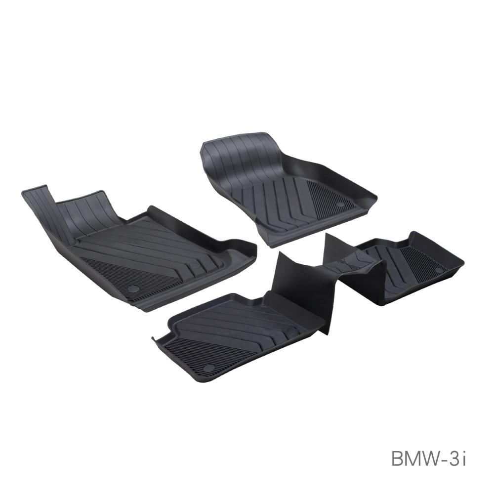 MIBO 米寶 全包式立體腳踏墊 3系列 2013~2018年 5片式 (黑色)