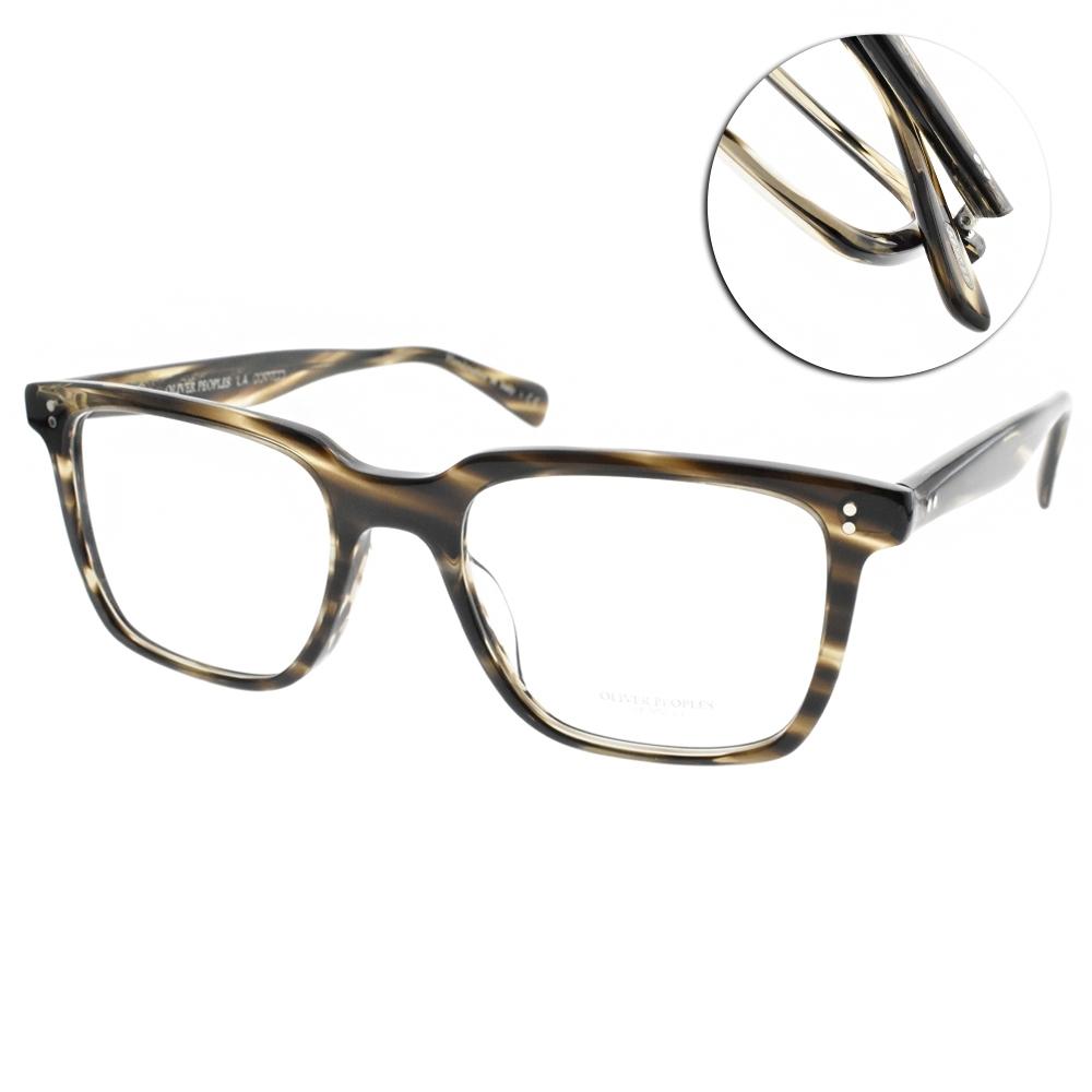 OLIVER PEOPLES光學眼鏡  懷舊復古款/透棕灰#LACHMAN 1612