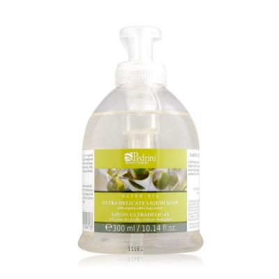 L ERBOLARIO 蕾莉歐 橄欖柔淨潔膚乳300ml-贈品牌試用包(隨機出貨)洗手乳潔手乳