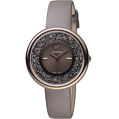 SWAROVSKI施華洛世奇CRYSTALLINE PURE嫵媚時尚腕錶(5416704)
