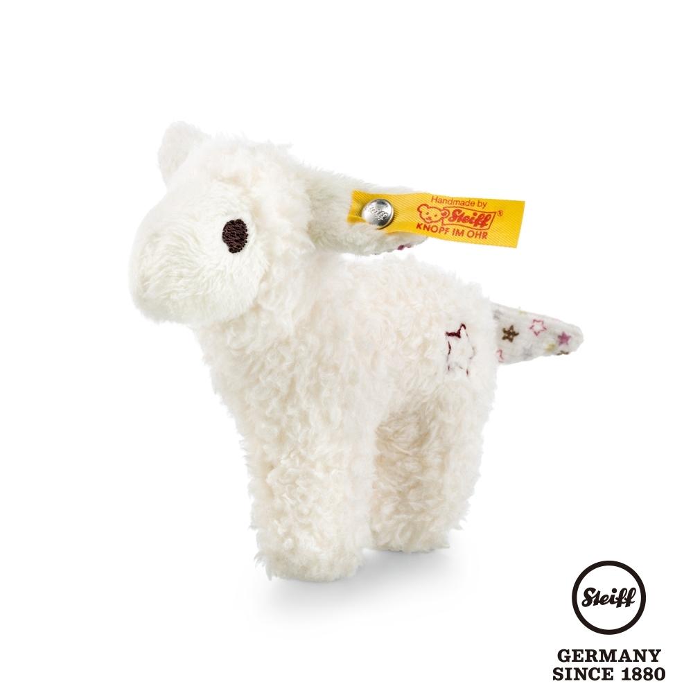 STEIFF德國金耳釦  Mini lamb with rustling foil 迷你小羊 (嬰幼兒手搖鈴)
