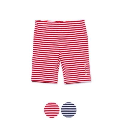 WHY AND 1/2 條紋棉質萊卡緊身褲 5Y~10Y 多色可選
