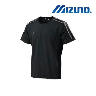 Mizuno 美津濃 男短袖T恤 黑 32TA900409