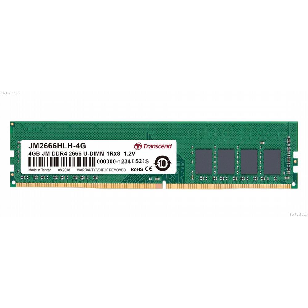 創見JetRam DDR4-2666 4G 桌上型記憶體